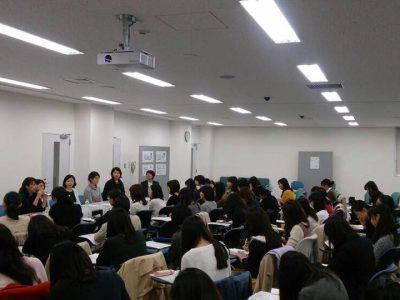 現役女子学生向け「キャリアセミナー」を開催しました。