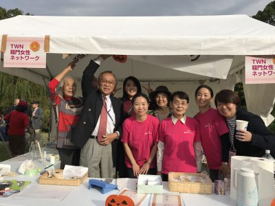 「稲門祭」に参加しました。